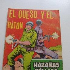 Tebeos: HAZAÑAS BÉLICAS Nº 263 - EL QUESO Y EL RATÓN - GORILA EDITORIAL TORAY- C87SADUR. Lote 110239363