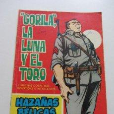 Tebeos: HAZAÑAS BELICAS EXTRA 175 GORILA, LA LUNA Y EL TORO EDITORIAL TORAY- C87SADUR. Lote 110239495