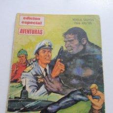 Tebeos: EDICION ESPECIAL AVENTURAS , LAS TROMPETAS DE LA MUERTE , EDITORIAL PRESIDENTE C87SADUR. Lote 110239667