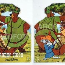 Tebeos: CUENTOS TROQUELADOS WALT DISNEY - Nº 12 - ROBIN HOOD - TORAY 1979 - TEXTOS: F. CAPDEVILA. Lote 110583055
