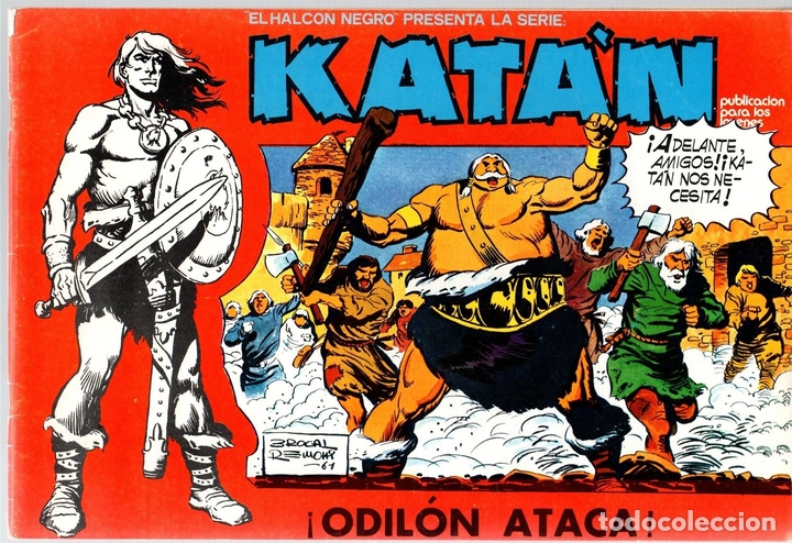 KATÁN. ODILÓN ATACA. Nº 10. URSUS EDICIONES. AÑO 1980 (Tebeos y Comics - Toray - Katan)