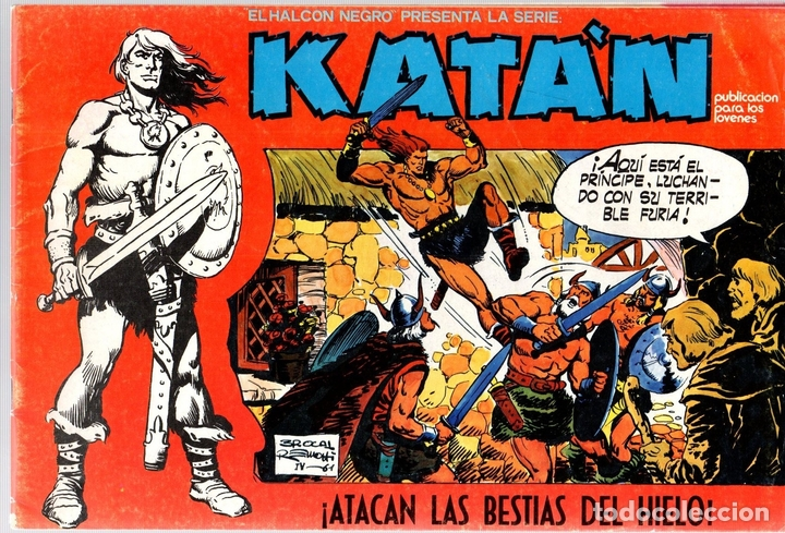 KATÁN. ODILÓN ATACA. Nº 9. URSUS EDICIONES. AÑO 1980 (Tebeos y Comics - Toray - Katan)