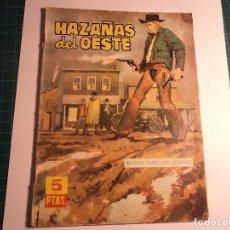 Tebeos: HAZAÑAS DEL OESTE. Nº 54. TORAY. (E-31). Lote 111011311