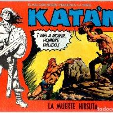 Tebeos: KATÁN. LA MUERTE HIRSUTA. Nº 7. URSUS EDICIONES. AÑO 1980. Lote 111102722