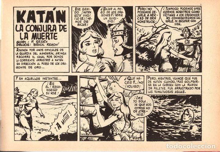 Tebeos: KATÁN. LA CONJURA DE LA MUERTE. Nº 8. URSUS EDICIONES. AÑO 1980 - Foto 2 - 111102916