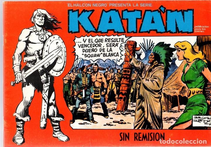 KATÁN. SIN REMISION. Nº 6. URSUS EDICIONES. AÑO 1980 (Tebeos y Comics - Toray - Katan)