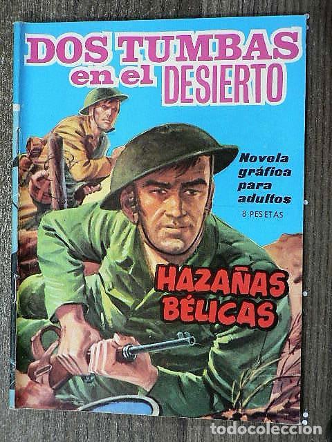 HAZAÑAS BÉLICAS : DOS TUMBAS EN EL DESIERTO (Tebeos y Comics - Toray - Hazañas Bélicas)