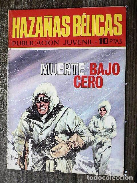 HAZAÑAS BÉLICAS : MUERTE BAJO CERO (Tebeos y Comics - Toray - Hazañas Bélicas)
