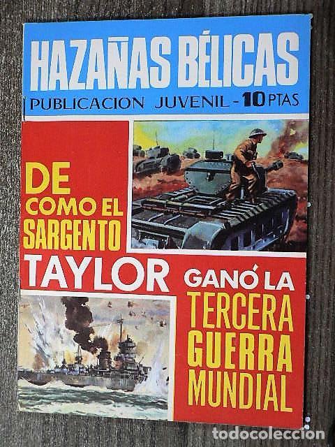 HAZAÑAS BÉLICAS : DE CÓMO EL SARGENTO TAYLOR GANÓ LA TERCERA GUERRA MUNDIAL (Tebeos y Comics - Toray - Hazañas Bélicas)