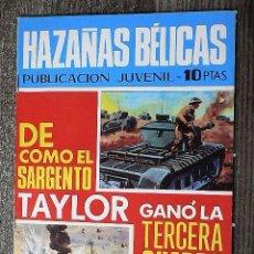 Tebeos: HAZAÑAS BÉLICAS : DE CÓMO EL SARGENTO TAYLOR GANÓ LA TERCERA GUERRA MUNDIAL. Lote 111164783