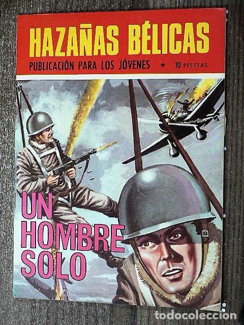 HAZAÑAS BÉLICAS : UN HOMBRE SOLO (Tebeos y Comics - Toray - Hazañas Bélicas)