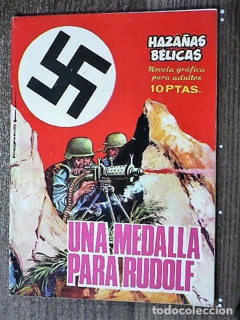 HAZAÑAS BÉLICAS : UNA MEDALLA PARA RUDOLF (Tebeos y Comics - Toray - Hazañas Bélicas)
