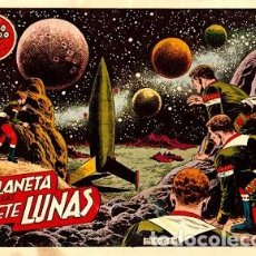Tebeos: EL MUNDO FUTURO-12: EL PLANETA DE LAS SIETE LUNAS, DE BOIXCAR (TORAY, 1955). Lote 111189383