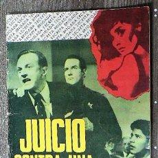 Tebeos: JUICIO CONTRA UNA MUJER FATAL. Lote 111360667