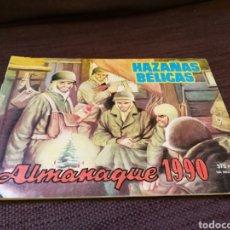 Tebeos: HAZAÑAS BÉLICAS. ALMANAQUE 1990. EDICIÓN ESPECIAL EN COLOR. Lote 111593210