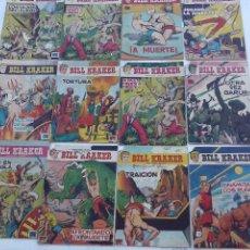 Tebeos: BILL KRAKER ORIGINALES NºS - 1,3,4,5,6,8,9,9,11,14,19,22 - EDITORIAL TORAY 1958 DIBUJO FERRANDO - . Lote 111823007