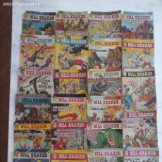 Tebeos: BILL KRAKER ORIGINAL 23 NºS, FALTA UNO - EDITORIAL TORAY 1958 DIBUJO FERRANDO - . Lote 111823579