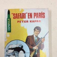 Tebeos: SAFARI EN PARIS - PETER KAPRA. Lote 112046167
