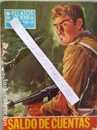 RELATOS DE GUERRA - SALDO DE CUENTAS - (Tebeos y Comics - Toray - Otros)