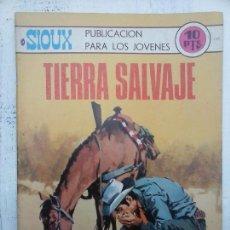 Tebeos: SIOUX Nº 149 - EDI. TORAY 1969 - DIBUJOS J. DUARTE - PORTADA DE RAFAÉL CORTIELLA. Lote 112372355