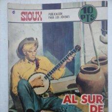 Tebeos: SIOUX Nº 113 - EDITORIAL TORAY 1968 - DIBUJOS F. LAGOS, PORTADA DE LONGARÓN. Lote 112372407
