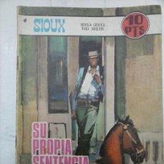 Tebeos: SIOUX Nº 92 EDI. TORAY 1967 - DIBJOS J.DUARTE - FOTO IRINA DEMICH - L.OLIVARES PORTADA. Lote 112372675