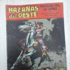 Tebeos: HAZAÑAS DEL OESTE Nº 224 - EDI. TORAY 1970 - GUIÓN SESEN - DIBUJOS TERÁN. Lote 112373967