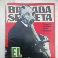 Tebeos: BRIGADA SECRETA Nº 135 - DIBUJA VICENTE FARRÉS - EDI. TORAY 1965. Lote 112374631
