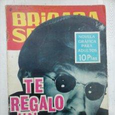 Tebeos: BRIGADA SECRETA Nº 175 - DIBUJA ANTONIO BORRELL - EDI. TORAY 1966. Lote 112374679