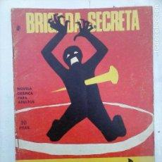 Tebeos: BRIGADA SECRETA Nº 186 - DIBUJA J.GUAL - EDI. TORAY 1966. Lote 112374747