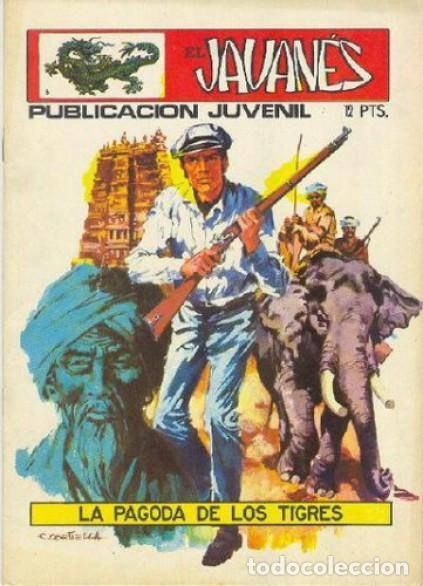 EL JAVANÉS - Nº 6 -LA PAGODA DE LOS TIGRES- 1971-GRAN ANTONIO CARRILLO- BUEN ESTADO-LEAN-ESCASO-2067 (Tebeos y Comics - Toray - Otros)