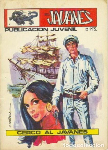EL JAVANÉS - Nº 7 -CERCO AL JAVANÉS- 1971-GRAN ANTONIO CARRILLO- BUENO-LEAN-ESCASO-2068 (Tebeos y Comics - Toray - Otros)