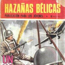 Tebeos: UN HOMBRE SOLO. NOVELAS GRAFICAS HAZAÑAS BELICAS. EDICIONES TORAY, 1970.. Lote 113061847