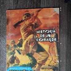 Tebeos: HISTORIA DE UN COBARDE. Lote 113189555