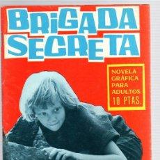 Tebeos: BRIGADA SECRETA. DIEZ FRANCOS, MUERTE INCLUIDA. Nº 166. AÑO 1966. Lote 113246127
