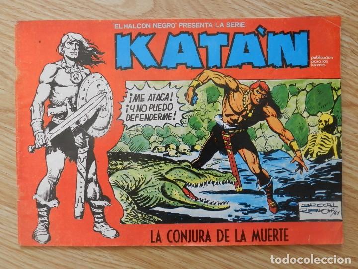KATÁN LA CONJURA DE LA MUERTE BROCAL REMOHI Nº 8. URSUS EDICIONES 1980 TORAY MARCO IBERICA (Tebeos y Comics - Toray - Katan)