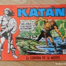 Tebeos - KATÁN La conjura de la muerte Brocal Remohi Nº 8. Ursus Ediciones 1980 toray marco iberica - 113331435