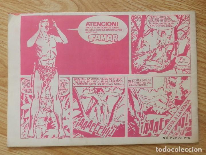 Tebeos: KATÁN La conjura de la muerte Brocal Remohi Nº 8. Ursus Ediciones 1980 toray marco iberica - Foto 2 - 113331435