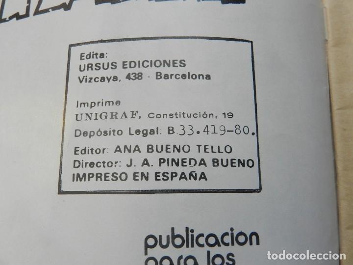 Tebeos: KATÁN La conjura de la muerte Brocal Remohi Nº 8. Ursus Ediciones 1980 toray marco iberica - Foto 3 - 113331435