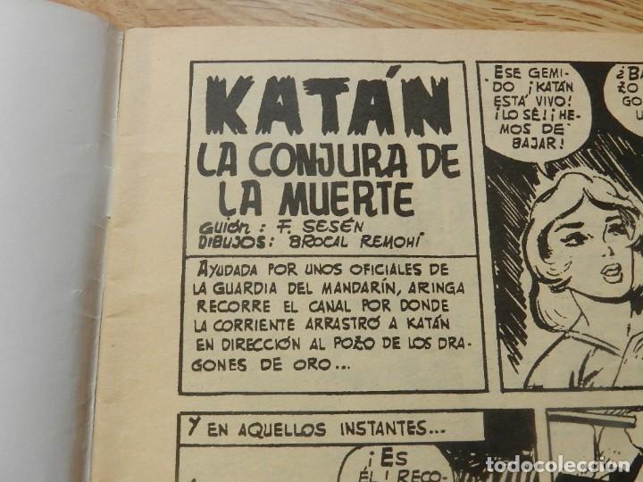 Tebeos: KATÁN La conjura de la muerte Brocal Remohi Nº 8. Ursus Ediciones 1980 toray marco iberica - Foto 4 - 113331435