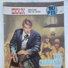 Tebeos: SIOUX Nº 141 TORAY 199 - J. LONGARON - J. DUARTE. Lote 113476983