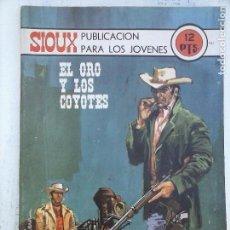 Tebeos: SIOUX Nº 181 EDI. TORAY 1971 - JAIME FORNS - PORTADA DE GRIERA. Lote 113477195