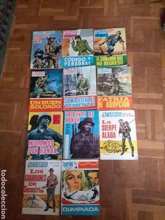 11 COMIC DE LOS AÑOS 60 DE EDITORIAL TORAY (Tebeos y Comics - Toray - Otros)