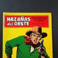 Tebeos: ORIGINAL NOVELAS GRÁFICAS HAZAÑAS DEL OESTE Nº 146 EDITORIAL TORAY . Lote 113771667