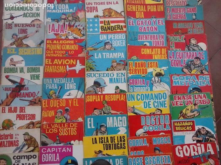 Tebeos: HAZAÑAS BÉLICAS GORILA LOTE 82 NºS - BUEN-MUY BUEN ESTADO, VER PORTADAS, TODAS - Foto 7 - 114517355