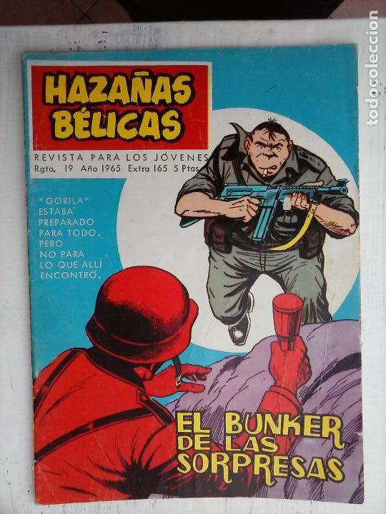 Tebeos: HAZAÑAS BÉLICAS GORILA LOTE 82 NºS - BUEN-MUY BUEN ESTADO, VER PORTADAS, TODAS - Foto 12 - 114517355
