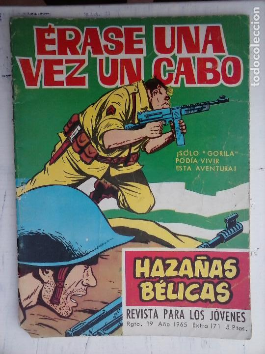 Tebeos: HAZAÑAS BÉLICAS GORILA LOTE 82 NºS - BUEN-MUY BUEN ESTADO, VER PORTADAS, TODAS - Foto 14 - 114517355