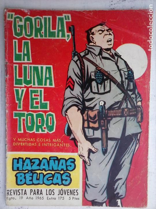 Tebeos: HAZAÑAS BÉLICAS GORILA LOTE 82 NºS - BUEN-MUY BUEN ESTADO, VER PORTADAS, TODAS - Foto 17 - 114517355