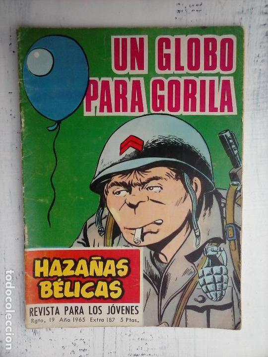 Tebeos: HAZAÑAS BÉLICAS GORILA LOTE 82 NºS - BUEN-MUY BUEN ESTADO, VER PORTADAS, TODAS - Foto 24 - 114517355