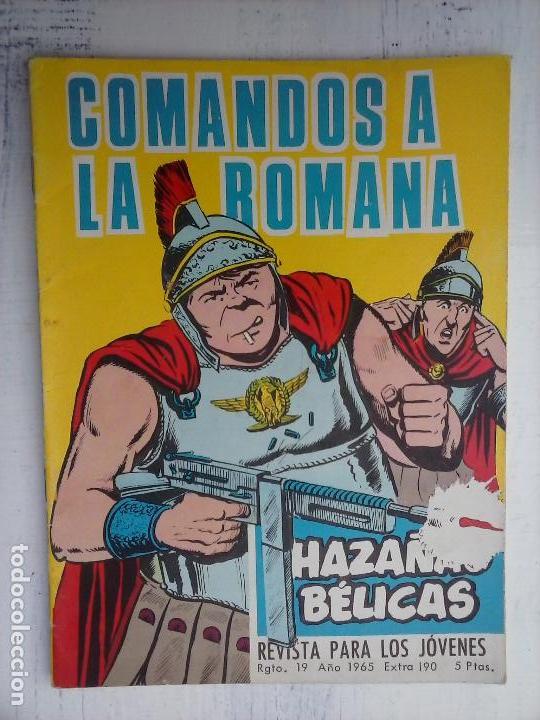 Tebeos: HAZAÑAS BÉLICAS GORILA LOTE 82 NºS - BUEN-MUY BUEN ESTADO, VER PORTADAS, TODAS - Foto 25 - 114517355